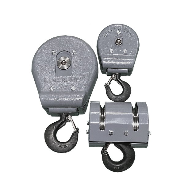 Single & Double Sheave Hook Blocks