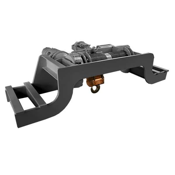 Underhung Double Girder (Dual Rail) Single Hook Hoists