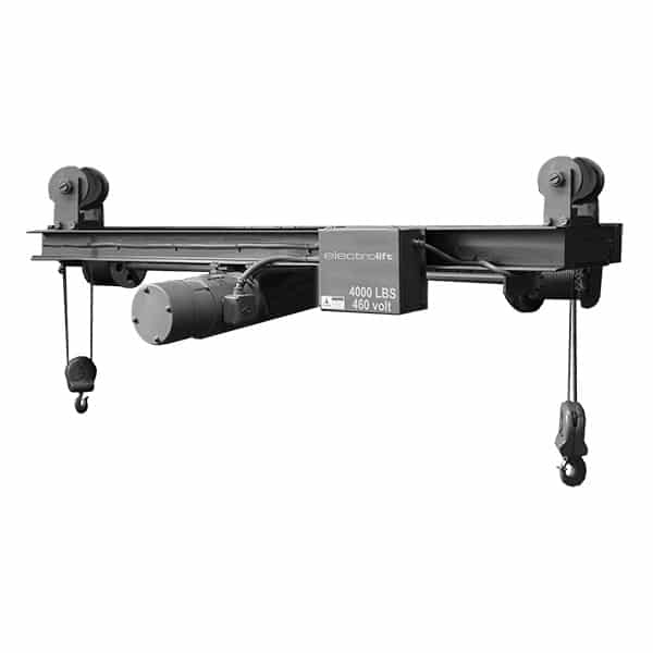 Idler Trolley Twin Hook Hoists