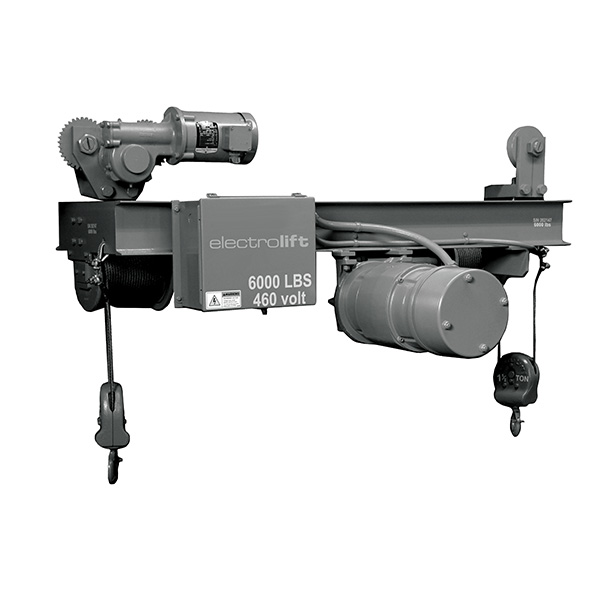 Motor Driven Trolley Twin Hook Hoists