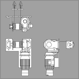 Base Mounted Single Hook Hoists 2
