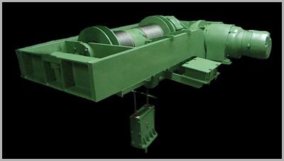 Electrolift Heavy Duty Paper Mill Application