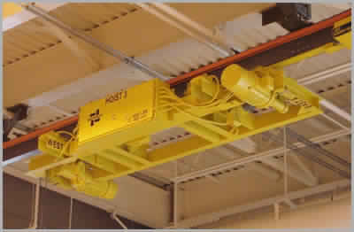 Low Headroom Railroad Car Maintenance Hoist