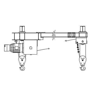 Modular Twin Hook Marine Application