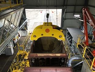 Rail Car Shaker Hoists 2