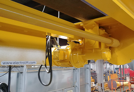 Caldwell Beam Completes Automated Lifting System